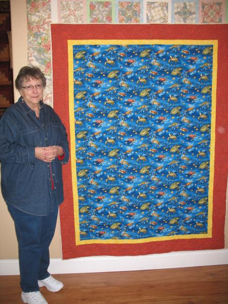 Beverly's Turtle Quilt