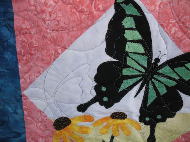 Judy's Butterfly Applique Quilt