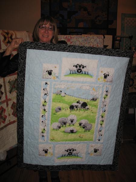 Carole's Sheep Quilt