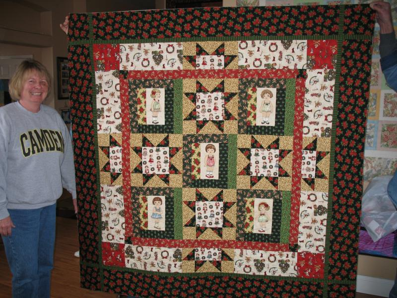 Norma's Paper Doll Quilt