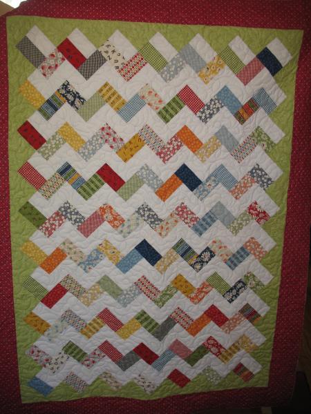 Aurora's Zigzag Quilt