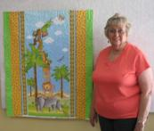Marjorie's Jungle Animals Quilt