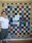 Sandy's Memory Quilt