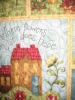 Virginia's Tulip Border Quilt