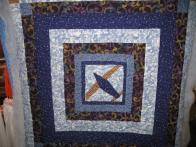 Val's Airplane Quilt