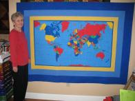 Dru's World Quilt