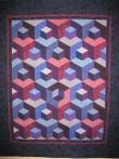 Marsha's Jinny Beyer Kit Quilt
