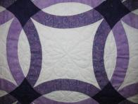 Cherie's Double Wedding Ring Quilt