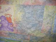 Judy's Pastel Baby Quilt