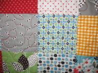 Liz's Fabric Collage Quilt