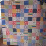 Liz's Fabric Collage Quilt