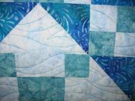 Susie's Blue Batij Quilt