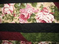 Linda's Burgandy Rose Quilt