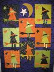 Marianne's Buggy Barn Witch Quilt