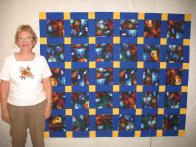 Phyllis' Outerspace Quilt
