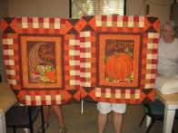 Gracie's Fall Table Toppers