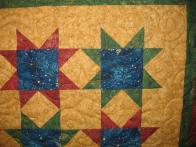 Judee's Christmas Star Quilt
