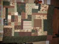 Shirley's Flannel Forest Quilt