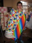 Pat's Rainbow Quilt