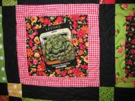 Gracie's Seed Packet Quilt