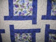 Barbara's Sweetpea Quilt