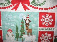 Donna's Snow Panel Quilt