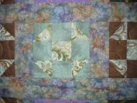 Peggy's Blue and Purple Quilt