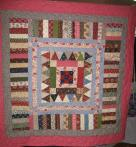 Leah's Scrappy Antique Quilt
