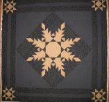 Virginia's Feathered Star Quilt
