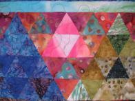 Bigwei's Triangle Pyramid Quilt
