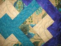 Kim's Turquoise Quilt