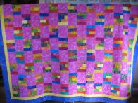 Marie's Delightfully Colorful Quilt