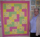 Pat's Baby Bear Quilt