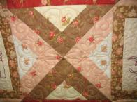 Sherri's Bicycle Stitchery Quilt