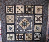 Sandy's Civil War Applique Quilt