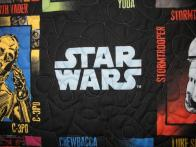 Shirley Star Wars Quilt