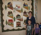 Sharon's Village Quilt