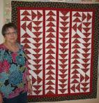 Beverly's Flying Geese Quilt