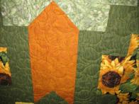 Kathy's Sunflower Quilt