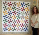 Natalie's Pinwheel Quilt