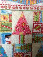 Gracie's Cheery Christmas Quilt
