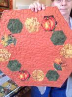 Shirley's Hexagonal Pumpkin Toppers