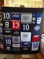 Samantha's Perfect 10 T-Shirt Quilt