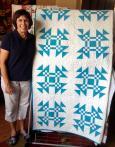 Linda's Turquoise Quilt