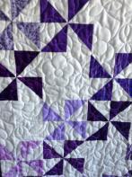 Ann's Purple Pinwheels