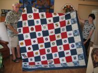 Patty and Alan's Navy Quilt (12 of 13)