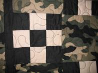 Beverly's Camouflage Quilt