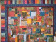 Sharon's Batik Quilt