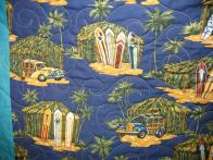Roxanna's Surfing quilt