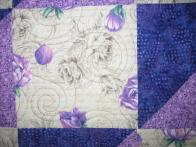 Marie's Purple Rose Quilt